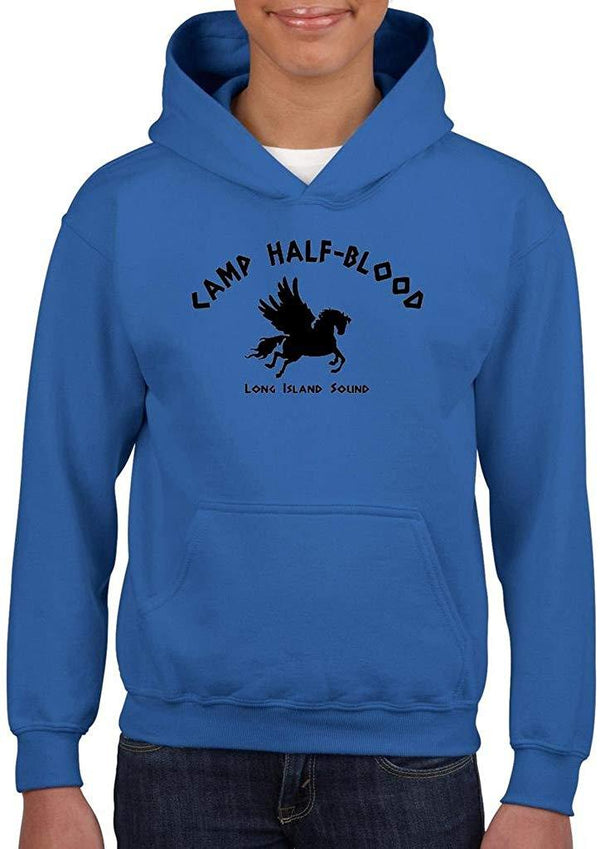 ARTIX Camp Half-Blood Cool Demigods Long Island Hoodie for Girls - Boys Youth Kids