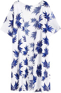 SweatyRocks Women Kimono Vintage Floral Beach Cover Up