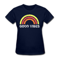 Good Vibes Women's T-Shirt - navy