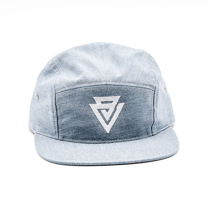 Vice & Virtue 5-Panel Hat - Grey