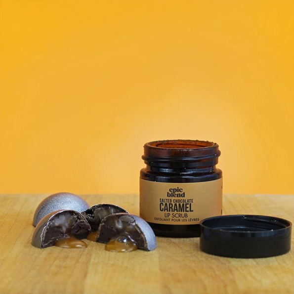 Exfoliante de labios | Chocolate Caramelo | Epic Blend