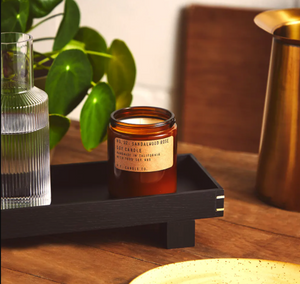 Vela de soya | Sandalwood Rose | Pf. Candle Co.
