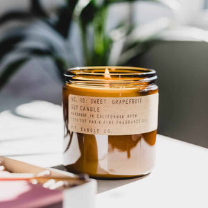 Vela de soya | Sweet Grapefruit | Pf. Candle Co.
