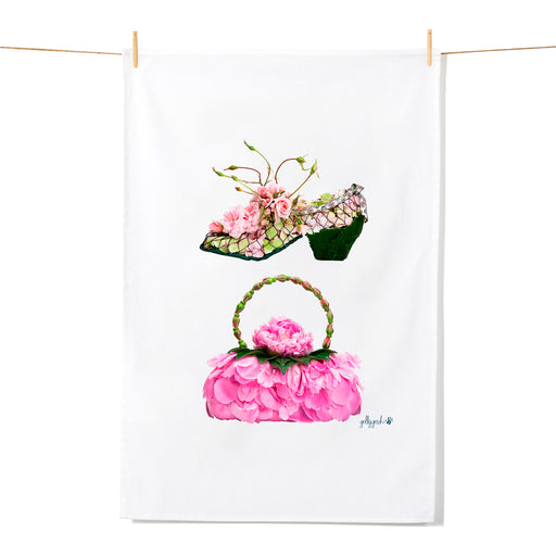 Golly Gosh Kitchen Tea Towel Flower Shoe & Bag