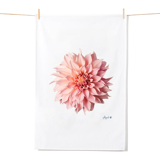 Golly Gosh Kitchen Tea Towel Dahlia Flower