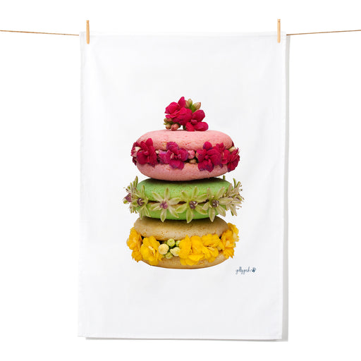 Golly Gosh Kitchen Tea Towel Macaroon Stack