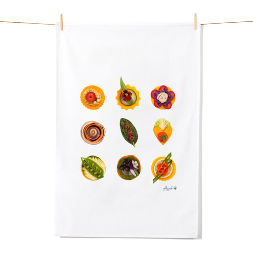 Golly Gosh Kitchen Tea Towel Canapes