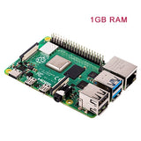 Latest Raspberry Pi 4 Model B with 1/2/4GB RAM BCM2711 Quad core Cortex-A72 ARM v8 1.5GHz Support 2.4/5.0 GHz WIFI Bluetooth 5.0