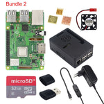 Raspberry Pi 3 Model B+ 3.5 inch Touchscreen LCD + ABS Case + 32GB SD Card + 3A Power Adapter + Heatsinks + HDMI for RPI 3B Plus