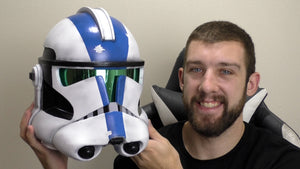 Making a Jet Trooper Helmet