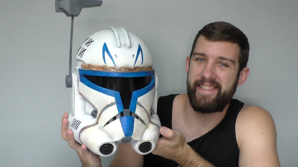 Making a Captain Rex Helmet