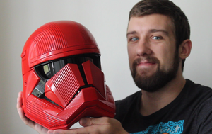 How to Make a Sith Trooper Helmet