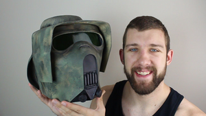 How to Make A Kashyyyk Clone Trooper Helmet