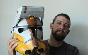 How to Make A Commander Bly Helmet