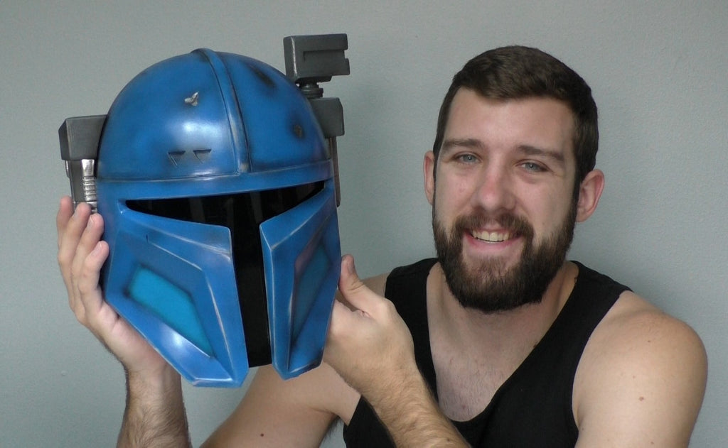 Making a Heavy Mandalorian Helmet