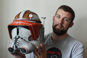 How to Make a Commander Cody Helmet