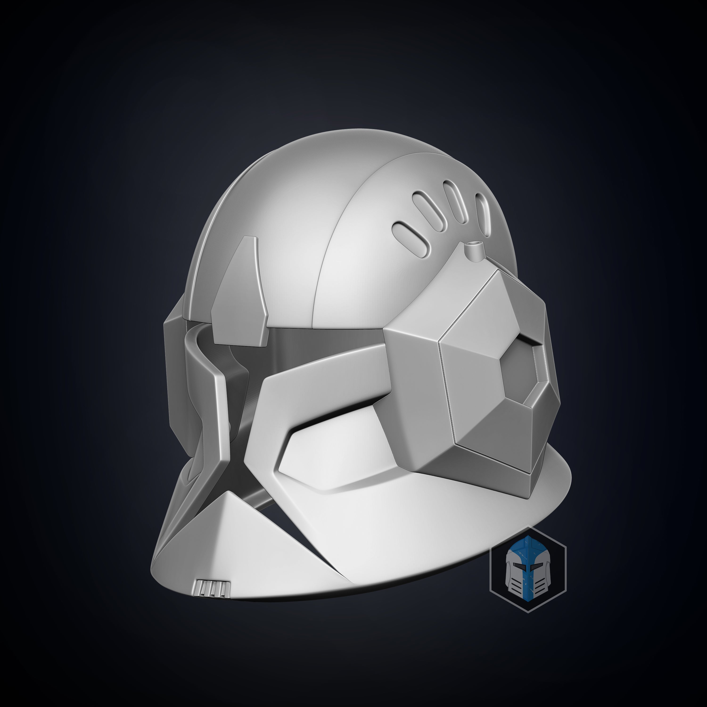 Animated Spec Ops Clone Trooper Helmet - 3D Print Files - The Galactic Armory