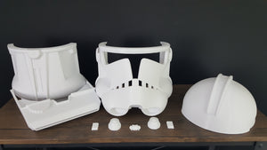 Phase 2 Specialist/Commander Bly Clone Trooper Helmet - DIY - The Galactic Armory