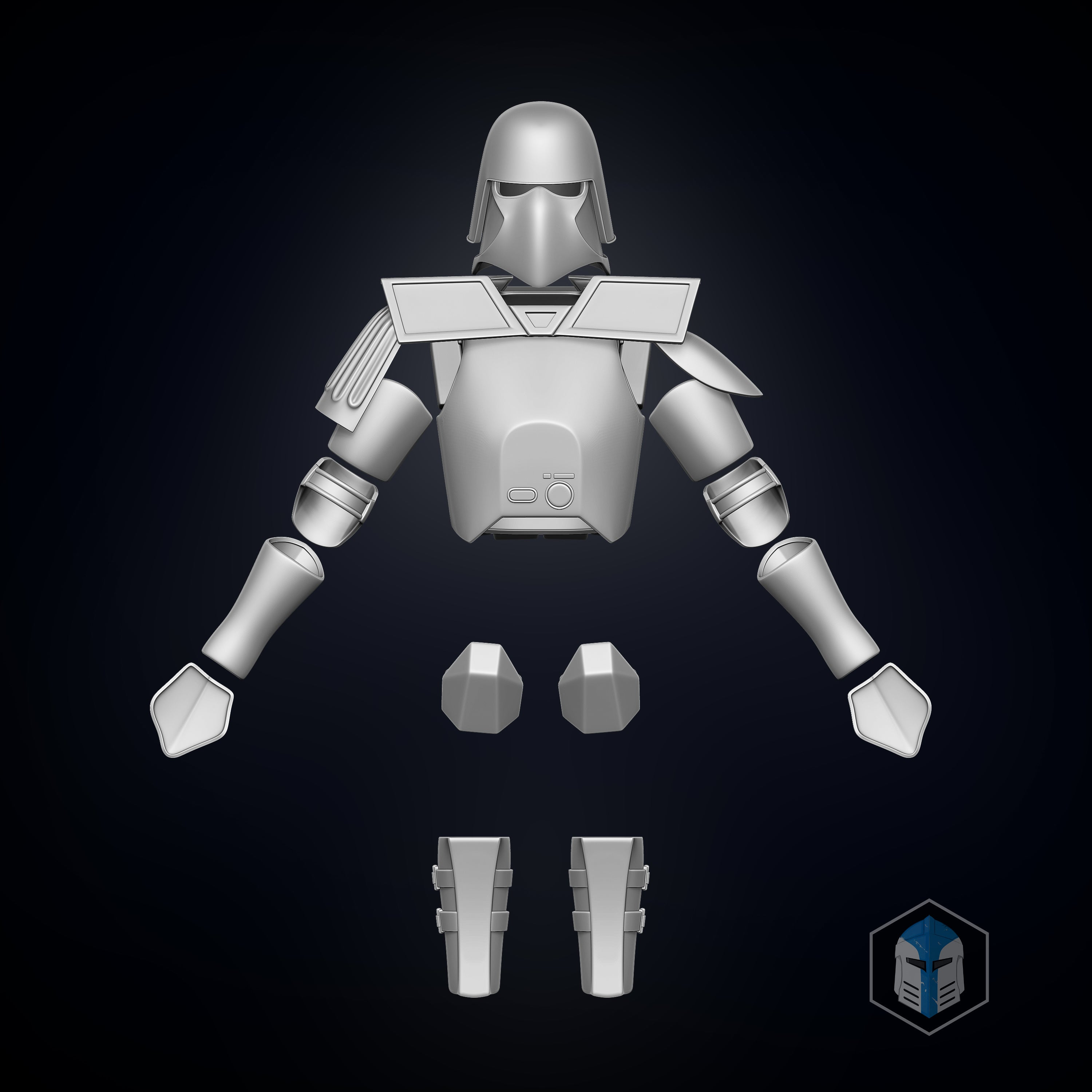Galactic Marine Clone Trooper Armor - 3D Print Files - Galactic Armory