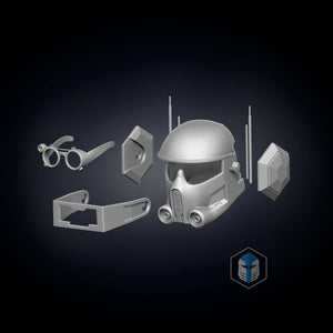 Bad Batch Tech Helmet - 3D Print Files - Galactic Armory