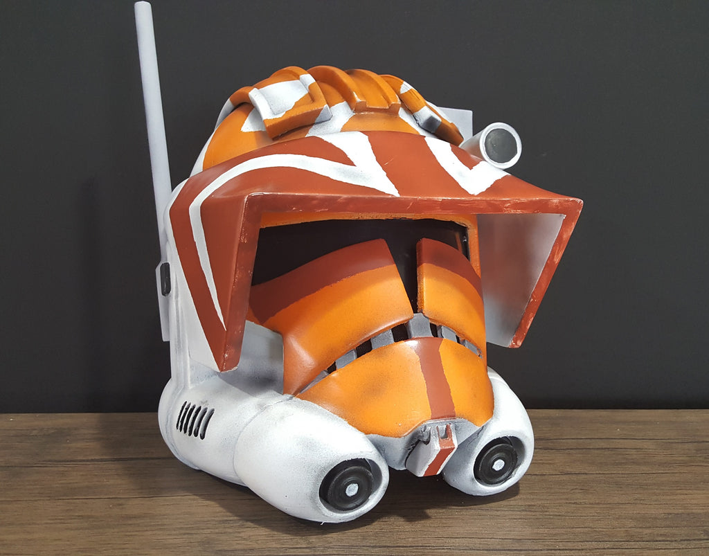 Phase 2 Animated Commander Clone Trooper Helmet - DIY - The Galactic Armory