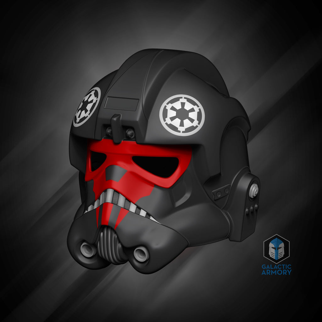 Tie Fighter Pilot Helmet - 3D Print Files - Galactic Armory
