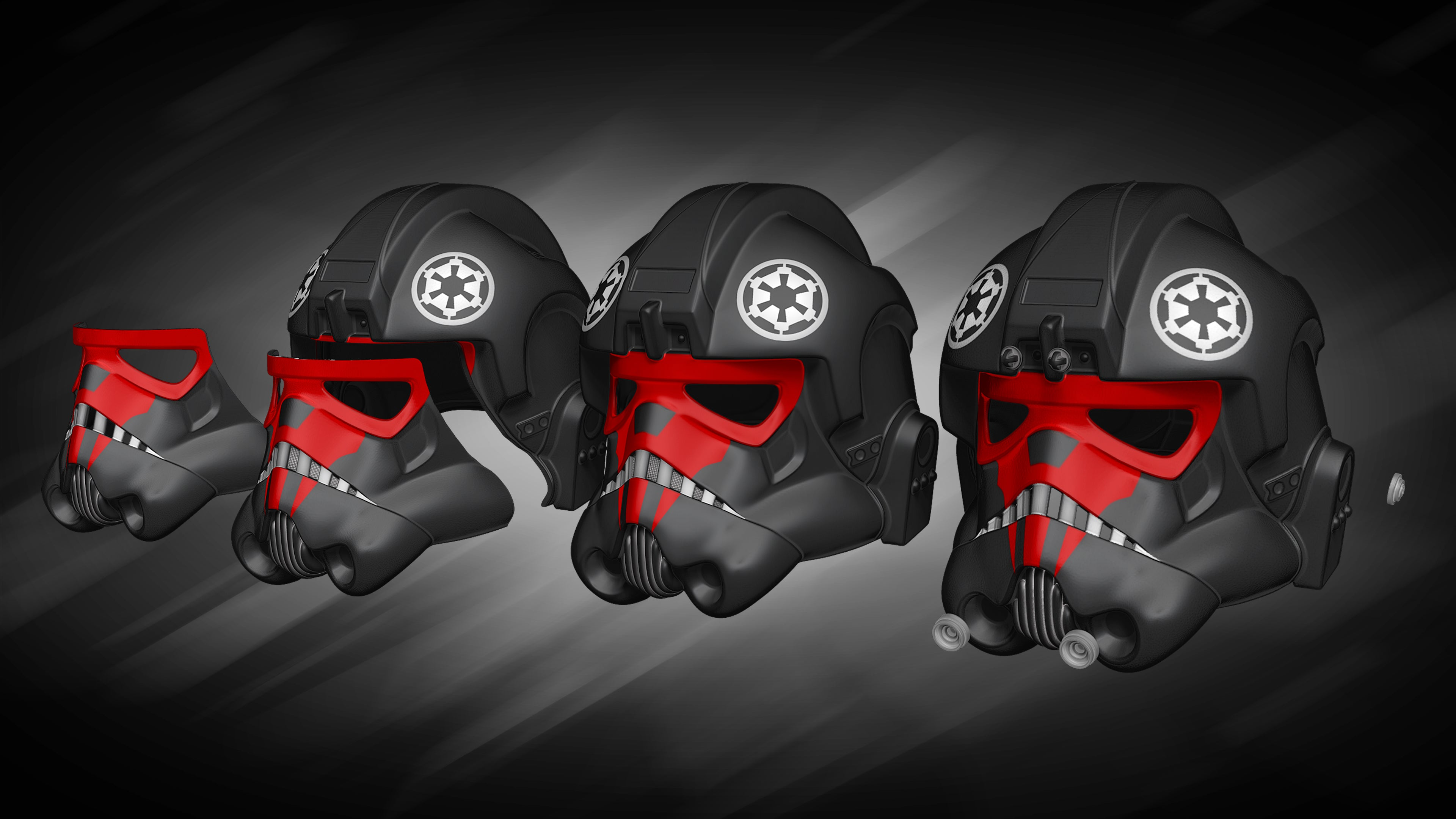 Tie Fighter Pilot Helmet - 3D Print Files - The Galactic Armory