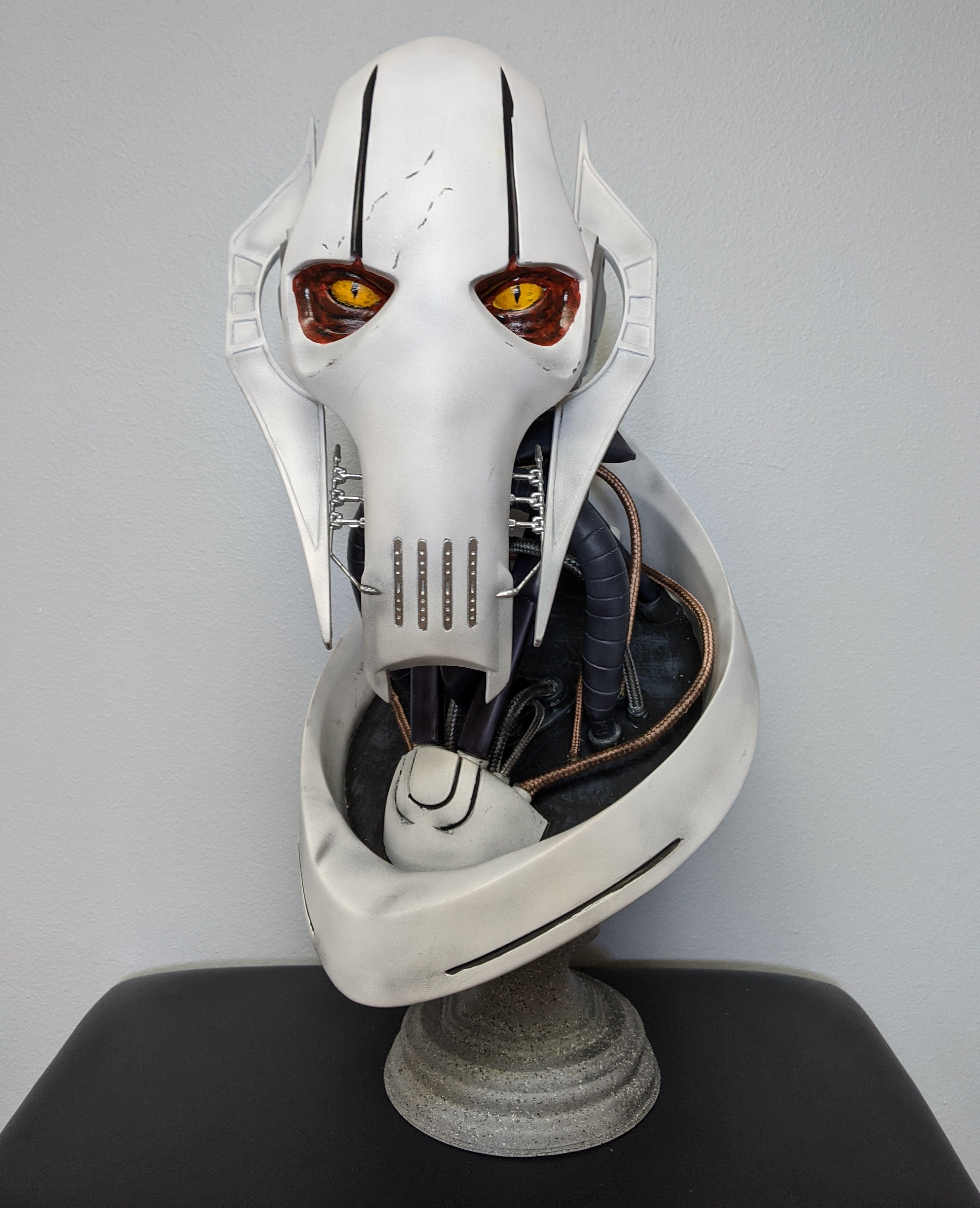 General Grievous Bust - DIY - The Galactic Armory