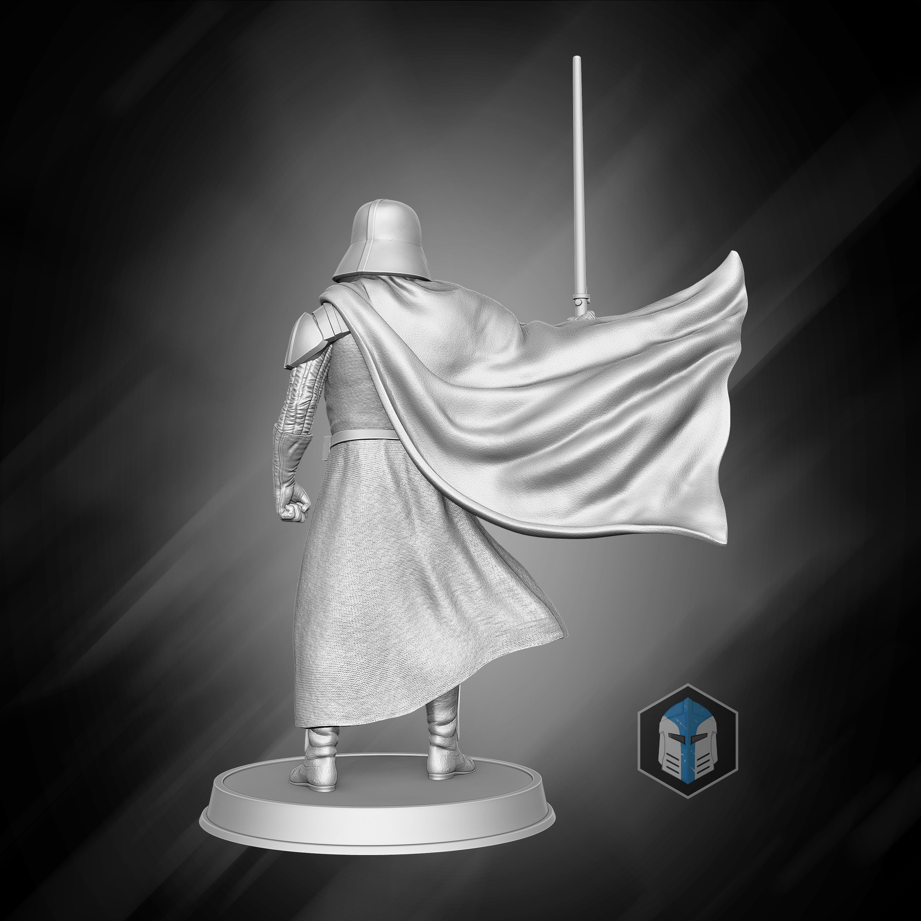 Darth Vader Figurine - Fear and Dead Men - 3D Print Files - Galactic Armory