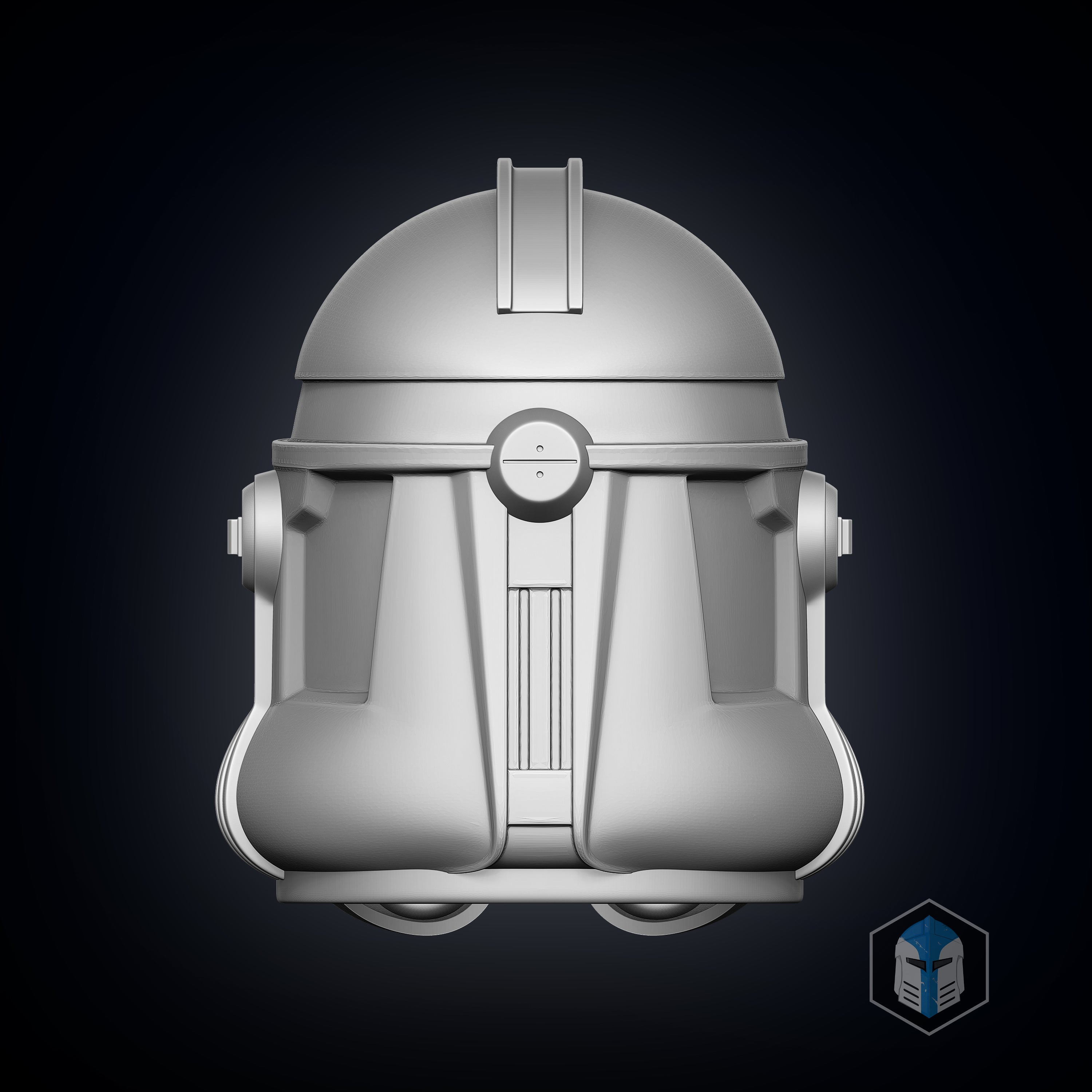 Phase 2 Clone Trooper Helmet - 3D Print Files - Galactic Armory