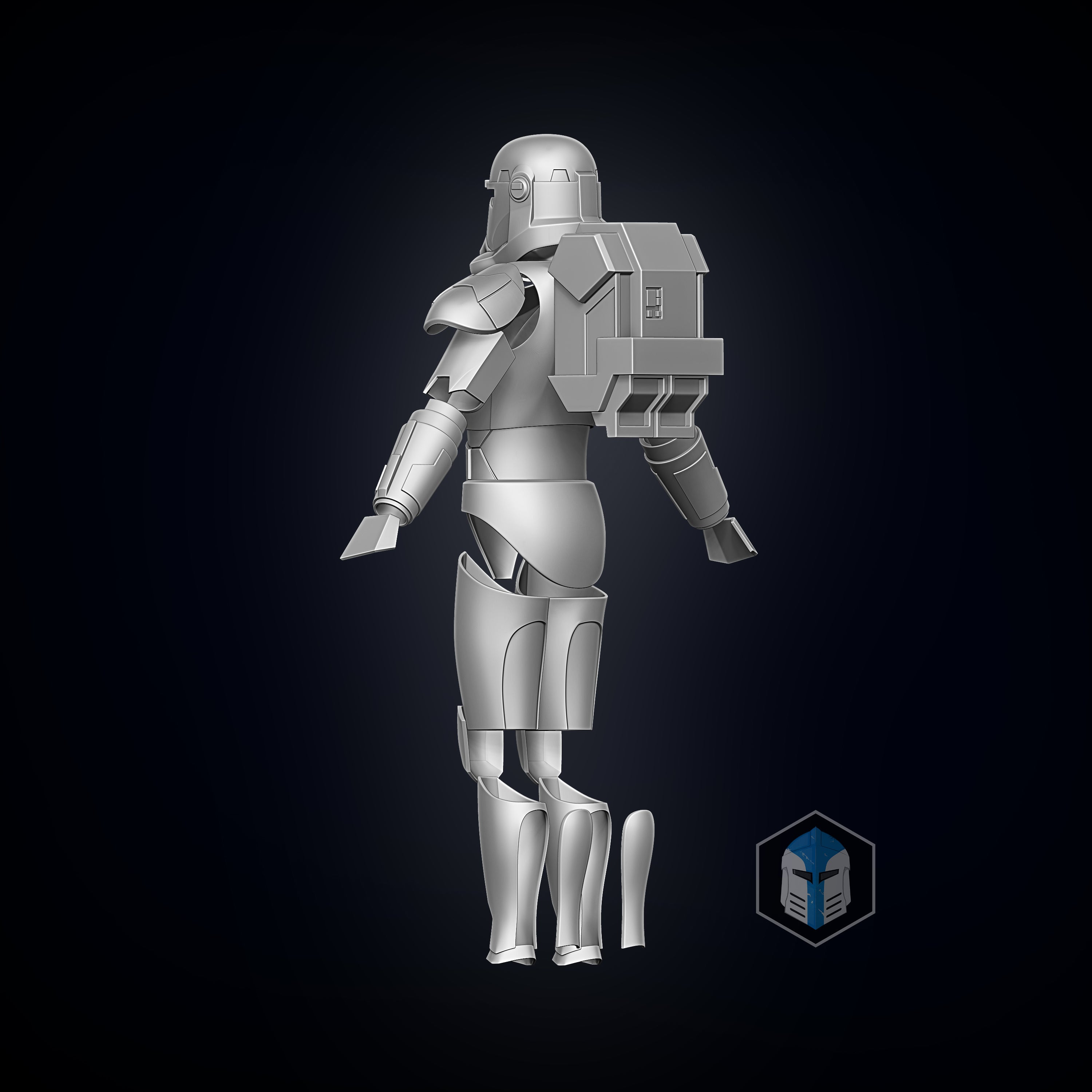 Bad Batch Hunter Armor - 3D Print Files - Galactic Armory