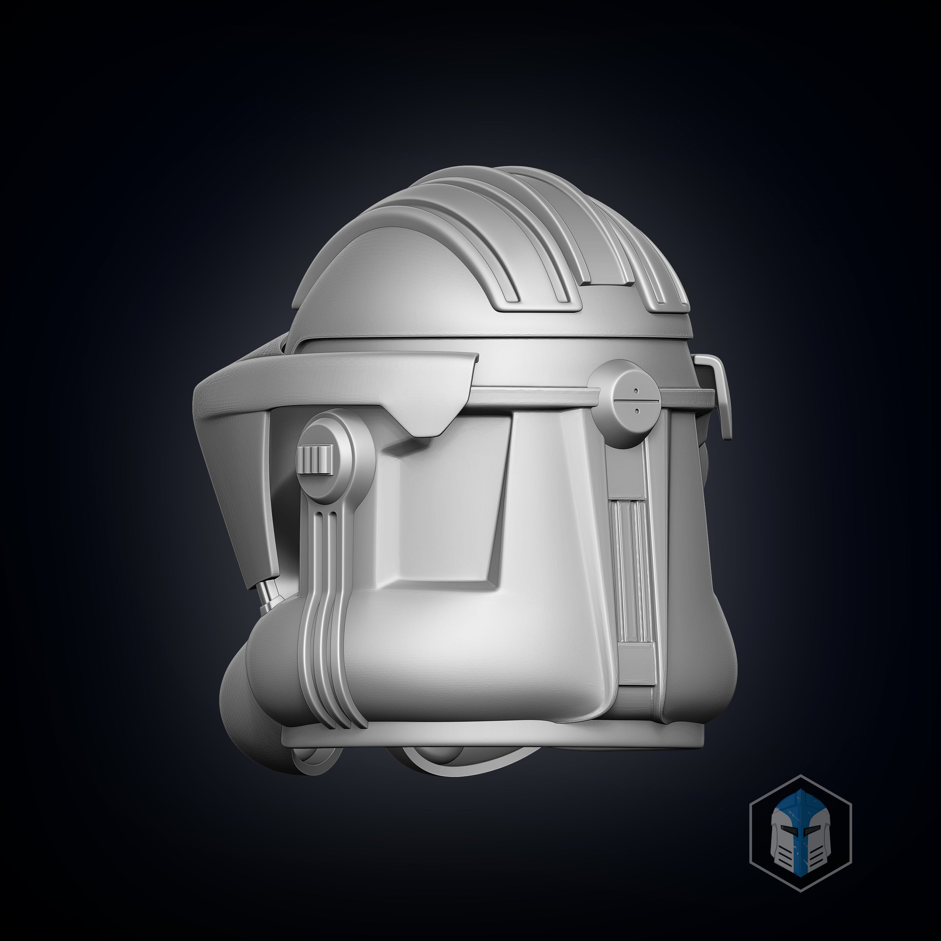 Phase 2 Clone Trooper Heavy - 3D Print Files - Galactic Armory