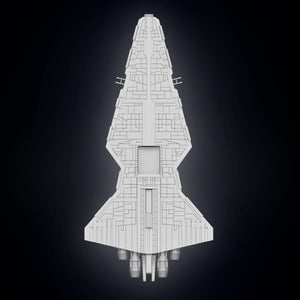 Clone Wars Venator Capital Ship - 3D Print Files - Galactic Armory