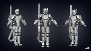 Mandalorian Heavy Armor - 3D Print Files - The Galactic Armory