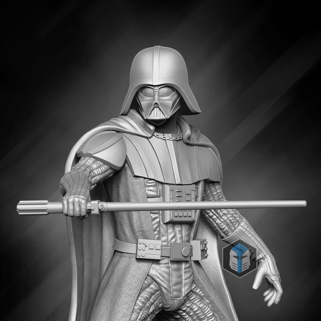 Darth Vader Figurine - Relentless - 3D Print Files - The Galactic Armory