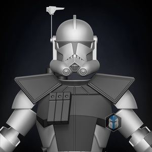 Animated ARC Trooper Armor Accessories - 3D Print Files - Galactic Armory