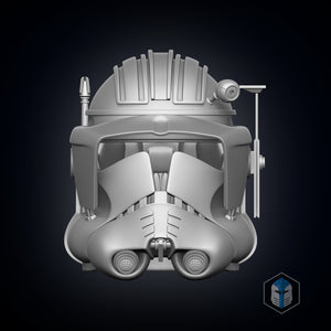 Phase 2 Commander Cody Helmet - 3D Print Files - Galactic Armory