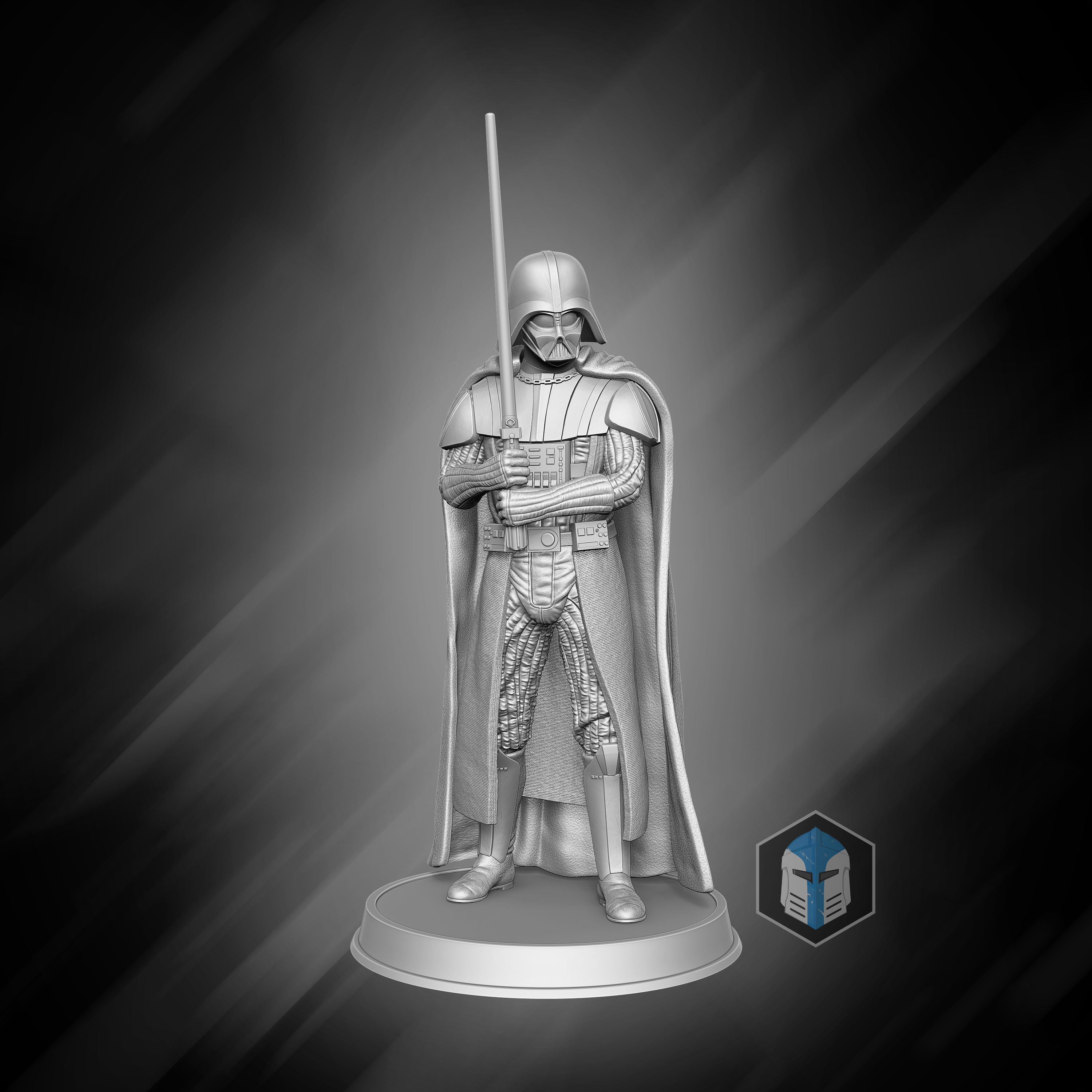 Darth Vader Figurine - Unforgiving - 3D Print Files - Galactic Armory