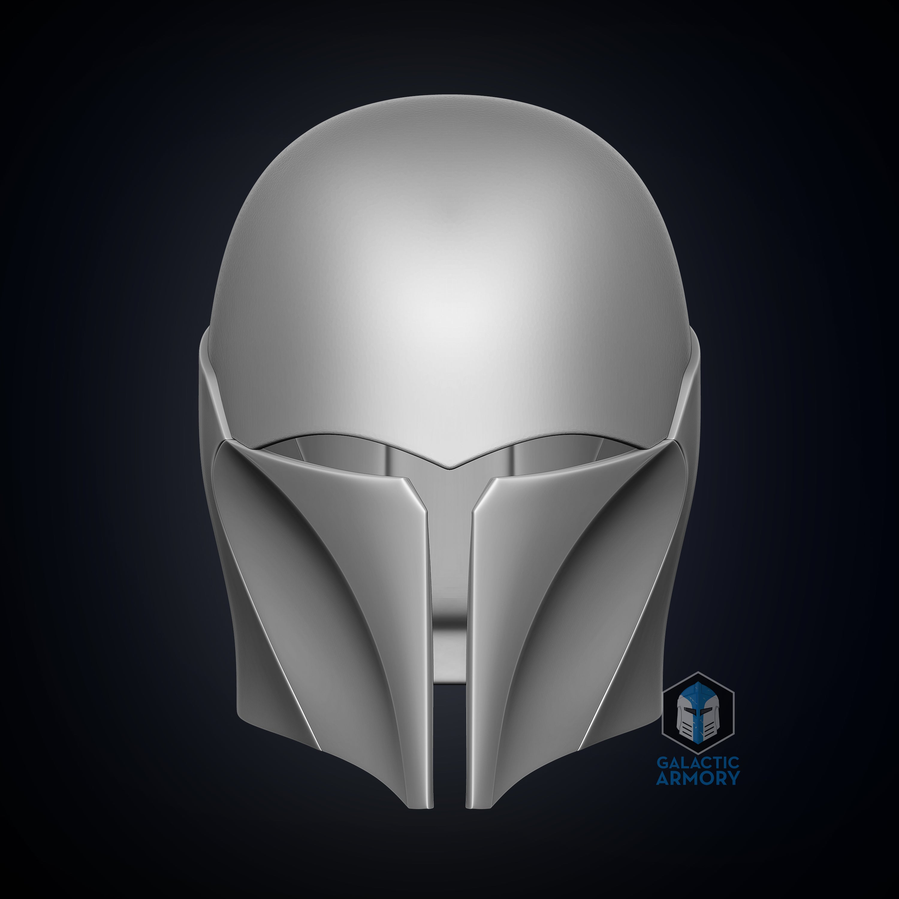 Female Deathwatch Helmet - 3D Print Files - The Galactic Armory