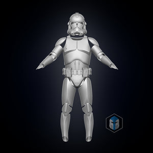 Phase 2 Clone Trooper Armor- 3D Print Files - Galactic Armory