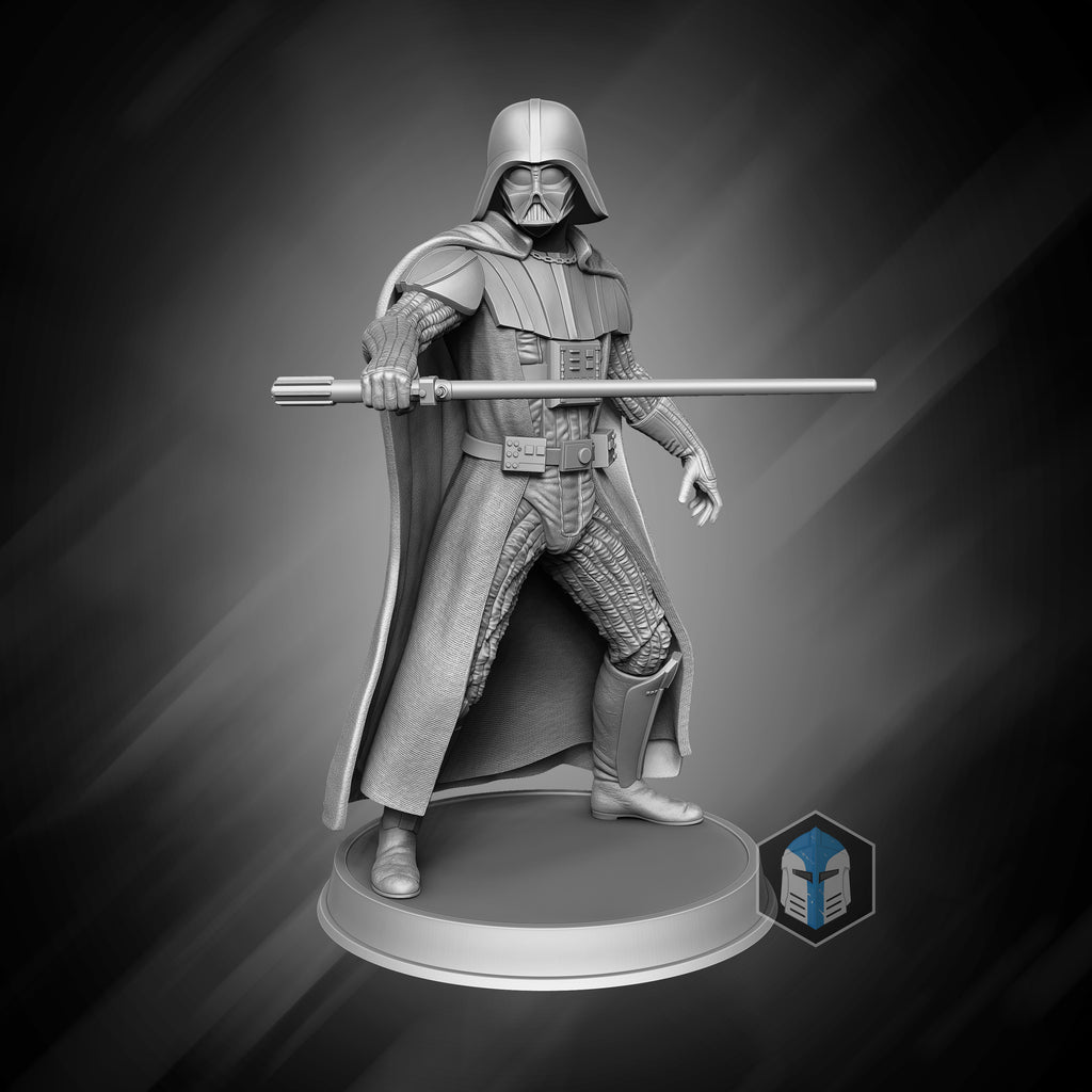 Darth Vader Figurine - Relentless - 3D Print Files - Galactic Armory