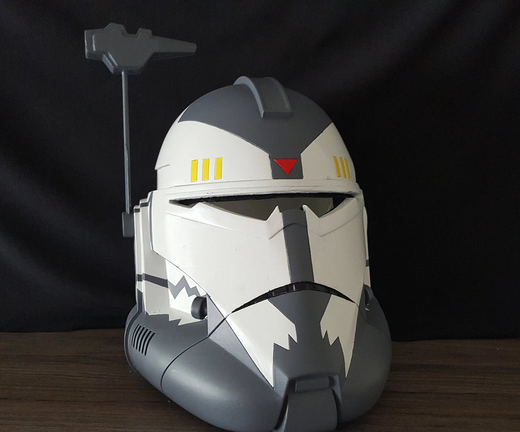 Commander Wolffe Clone Trooper Helmet - DIY - The Galactic Armory