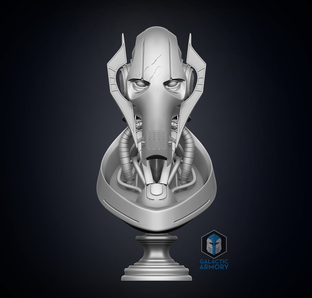 General Grievous Bust - 3D Print Files - Galactic Armory