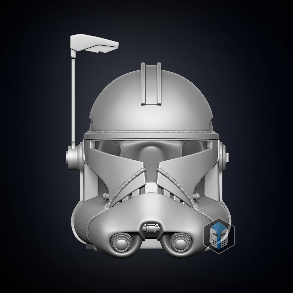 Realistic Captain Rex Helmet - 3D Print Files - The Galactic Armory