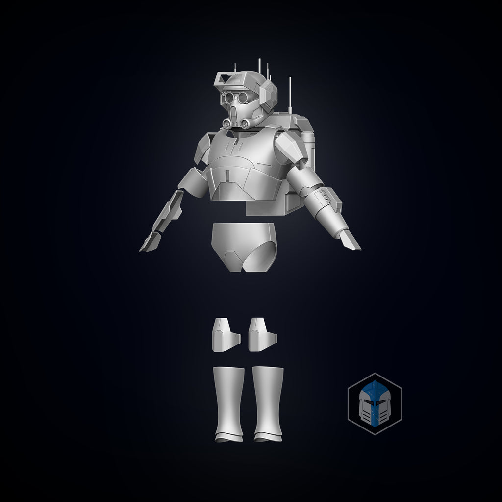 Bad Batch Tech Armor - 3D Print Files - Galactic Armory