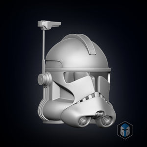 Phase 2 Clone Trooper Officer - 3D Print Files - Galactic Armory