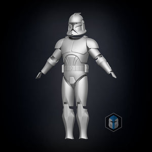 Phase 1 Animated Clone Trooper Armor - 3D Print Files - The Galactic Armory