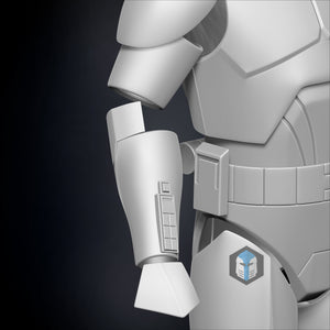 Phase 2 Animated Clone Trooper Armor - 3D Print Files - Galactic Armory