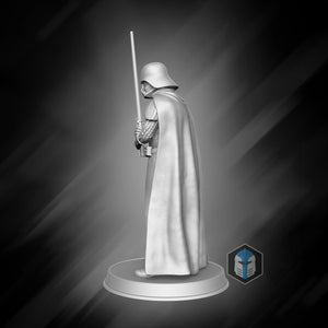 FREE! - Darth Vader Figurine - Unforgiving - 3D Print Files - The Galactic Armory