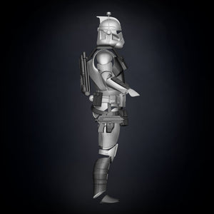 ARC Clone Trooper Armor Accessories - 3D Print Files - The Galactic Armory